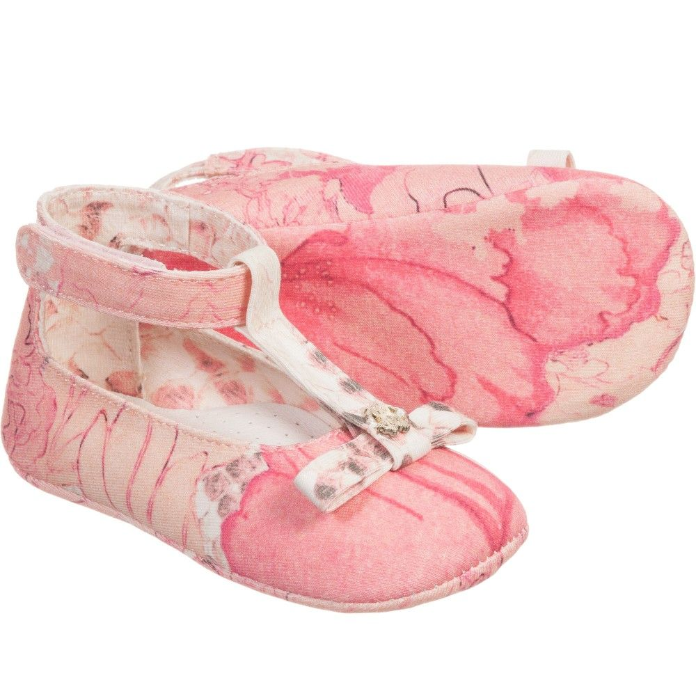 Baby Girls Pink Kyoto Pre Walker Shoes Pink Babies And Shoes