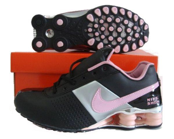 new arrival df255 950b4 ... switzerland nike shox oz chaussures femme noir argenté rose 292433  593f7 cafbd