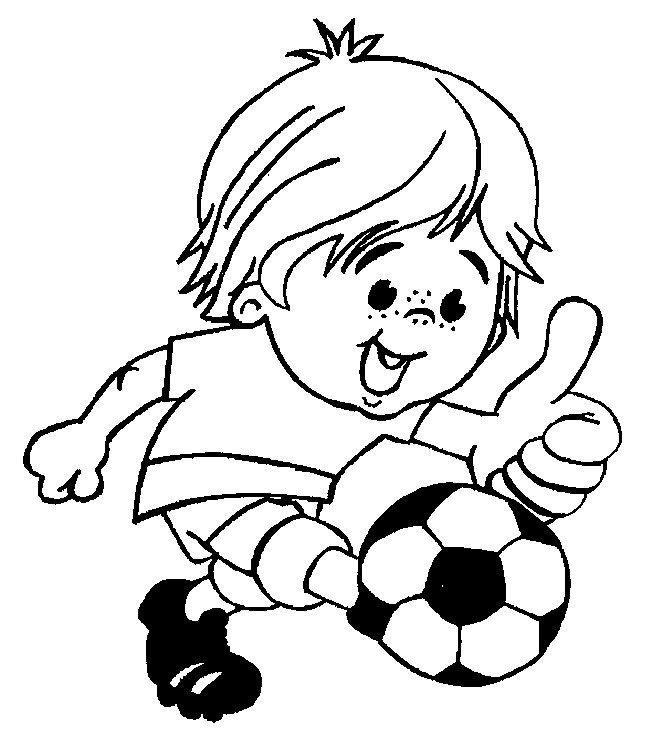 Disegni da colorare per bambini. Colorare e stampa Sportivo 58 ...