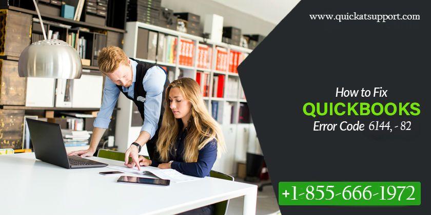 How To Fix Quickbooks Error 6144 82 Error Code Coding