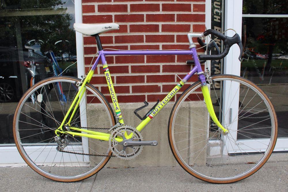 Vintage 80s Bottecchia Steel Campagnolo Road Bike 55cm  Bottecchia a0db8456f