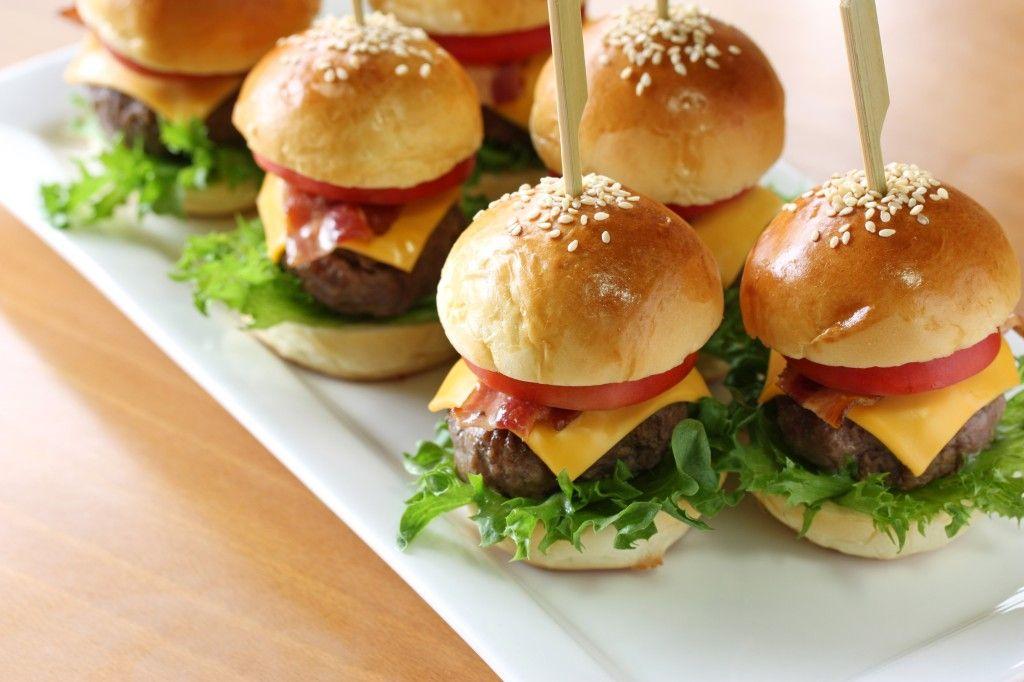 Hübsch und lecker: Unsere Mini-Burger