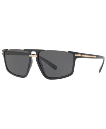 67c21a3b4d70 Versace Sunglasses, VE4363 60 - Black in 2019 | Products | Versace ...