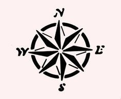 10 Best Photos Of Free Printable Nautical Stencils Free Printable Nautical Stencils Compass Free Anchor Stencil Print Mariners Compass Compass Rose Stencils
