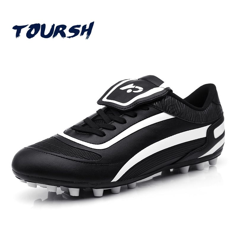 Men Sport Athletic Light Weight Outdoor Soccer Shoes Soccer Cleats White