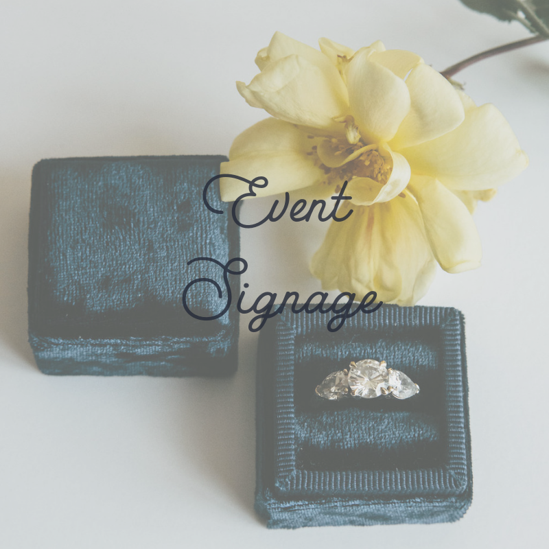 Event Sign Ideas For Your Wedding Day #ceremony #reception