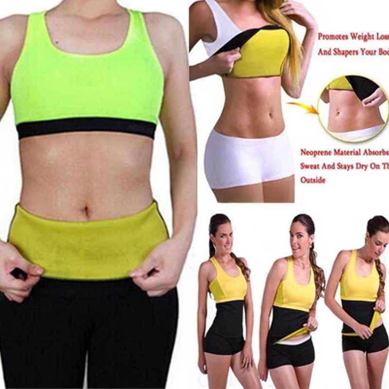 e5e8511fb2fe7  2.99 AUD - Hot Shapers Belt Slim Fit Body Shaper Belly Waist Tummy Trimmer  Fat Burn Sweat  ebay  Fashion
