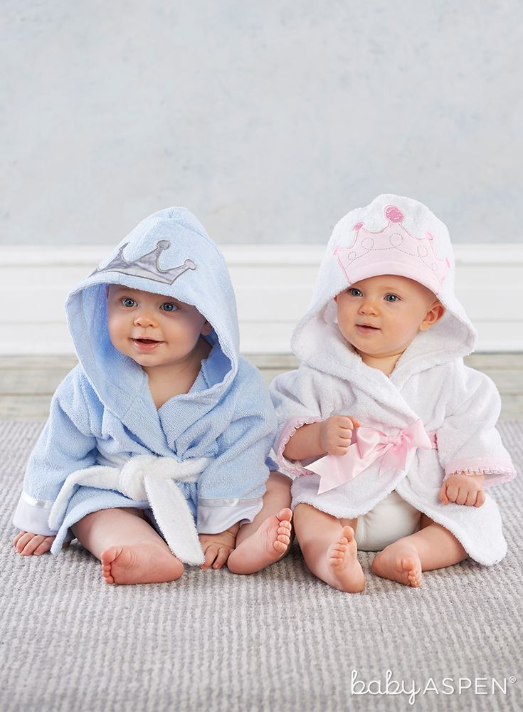 Give baby the royal treatment after bath time with these Little ...