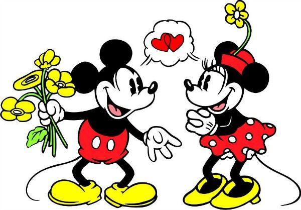 Miki Maus Y Mini Buscar Con Google Minnie Mouse Cartoons Mickey Minnie Mouse Mickey Mouse Cartoon
