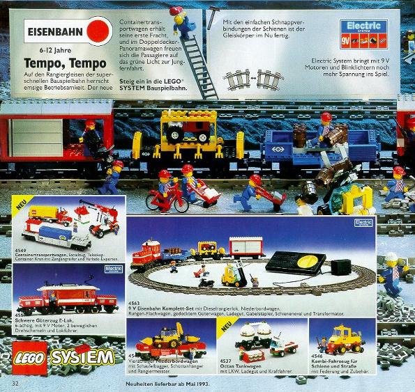 Lego Eisenbahn TRAIN 4539 Bauanleitung BA Anleitung INSTRUCTIONS