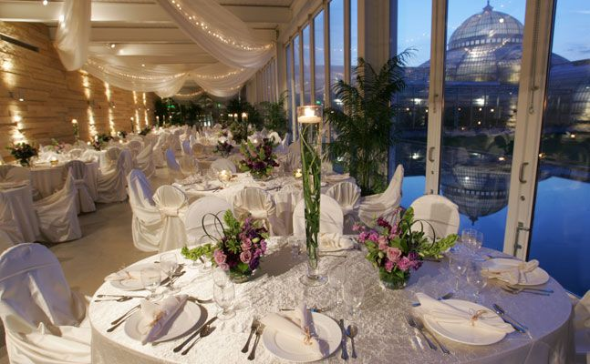 Outdoor Park Or Indoor Room For Wedding Ceremony: Como Park & Conservatory Covered Porch. We Are REAL