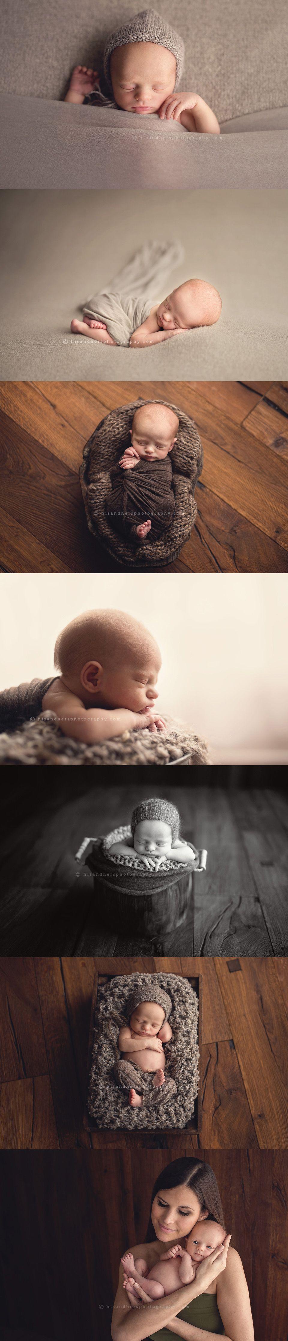 Des Moines, Iowa newborn photographer - preemie Knox 2 weeks old.  #desmoines #iowa #newborn #photographer | His & Hers | Des Moines, Iowa