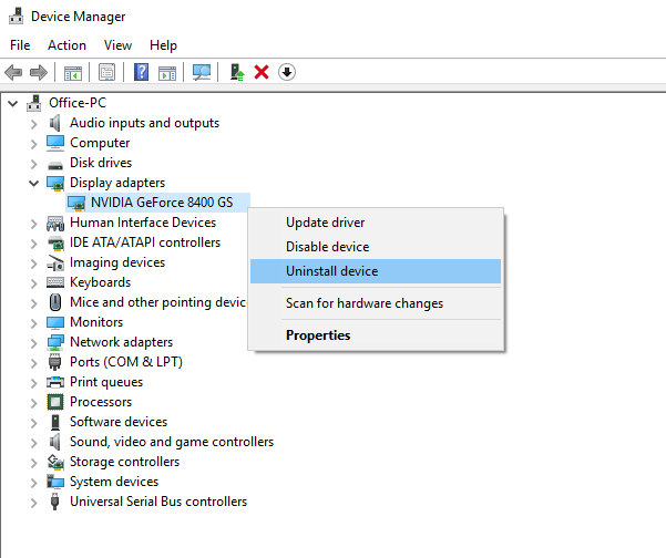 If You Have A Graphics Adapter Or Card On Your Windows Pc Which Is Not Compatible With The Next Upgrade Of Windows Here Is Video Card Device Driver Windows 10