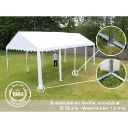 Photo of 3×4 m party tent, PVC tarpaulin 550 g / m², with floor frame, dark green garden tent, marquee, pavilion tool