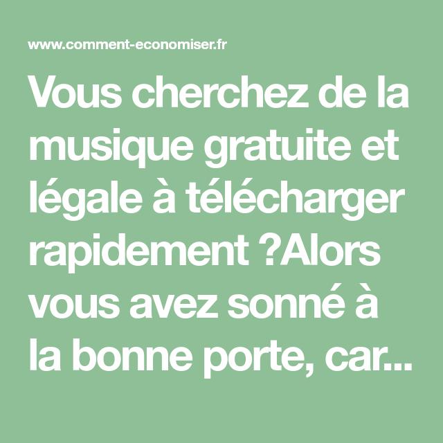 Le Nouveau Site Pour Telecharger De La Musique Gratuitement Rapidement Et Legalement Musique Gratuite Telechargement De Musique Musique