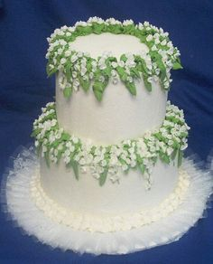 Lily Of The Valley Fairy Google Otsing Kevad Ja Piibelehed - Wedding Cake With Lilies