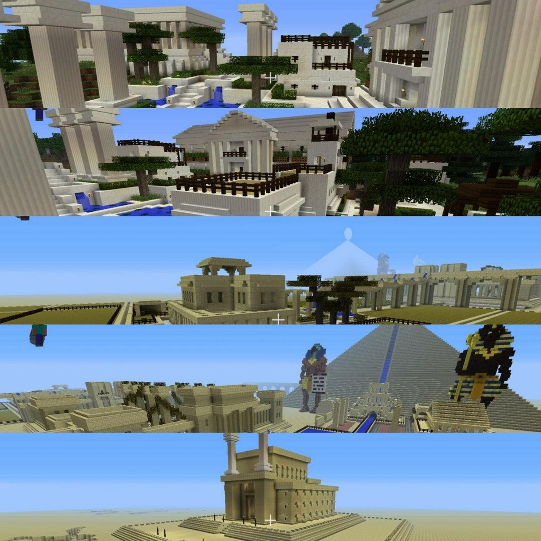 Just got back into minecraft at 22. Here's a glimpse of