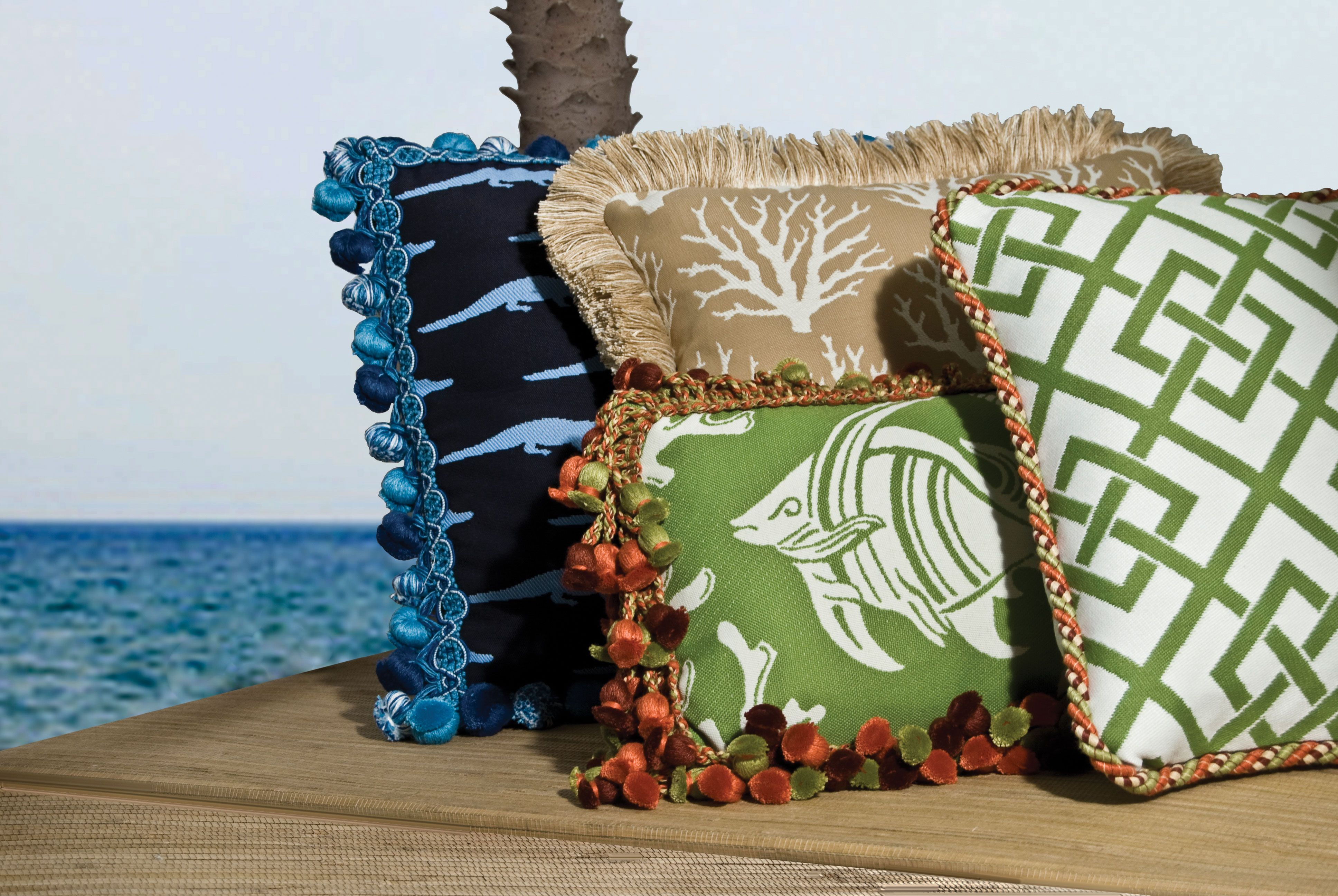 Decorative Trims That Withstand The Outdoors Cabana Collection By Brimar Trim