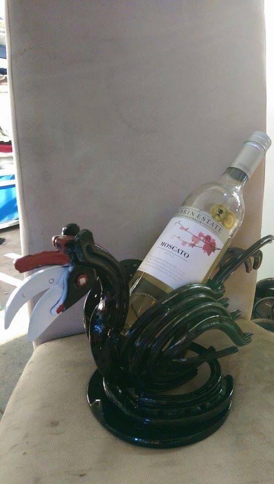 chook bottle holder check us out on facebook Pop's Art & Co