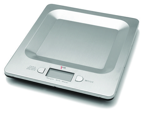 Stainless steel digital kitchen scale for sale at Walmart Canada