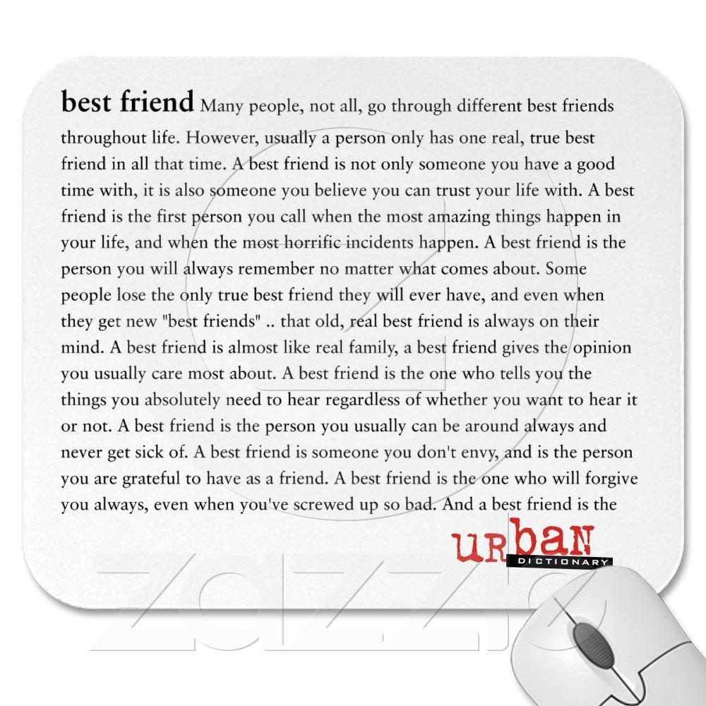 Custom Urban Dictionary Mousepad