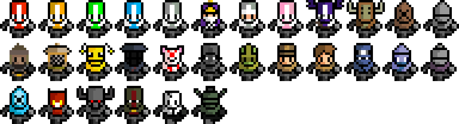 10++ Castle crashers animal orbs images