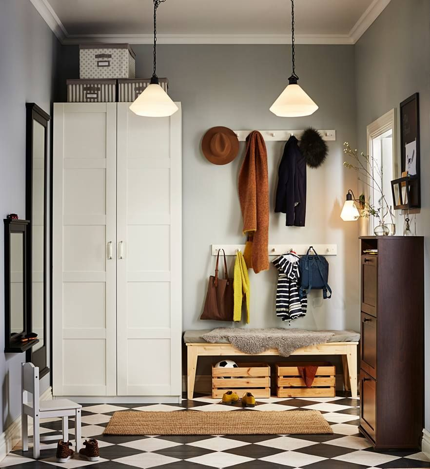 Hallway storage armoire  Pin by Bahar Sahin on Deco  Pinterest  Hall Mud rooms and Mudroom