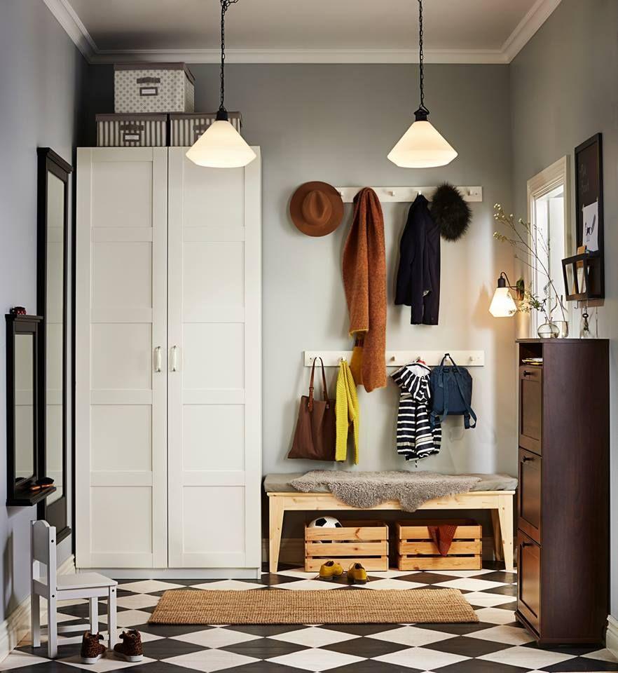 tiers of hooks  Ikea  Flure Garderoben und Treppenhäuser
