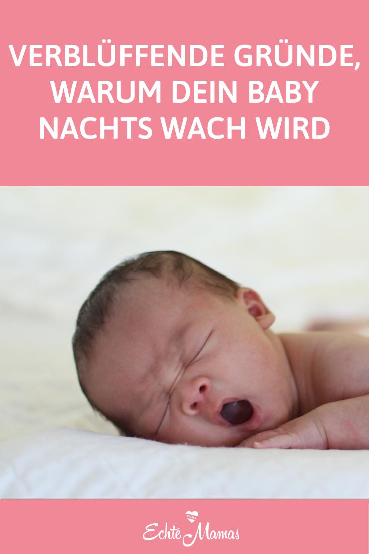 Baby Wach Halten Damit Nachts Schläft