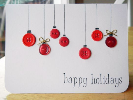 14 Holiday Cards You Can Make With Things You Have