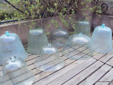 Antique French Garden Cloches Glass Cloche Garden Cloche