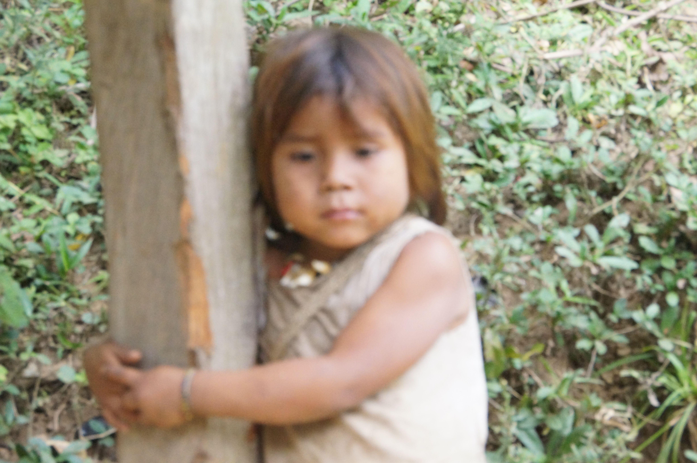 Kogi Child in Colombia