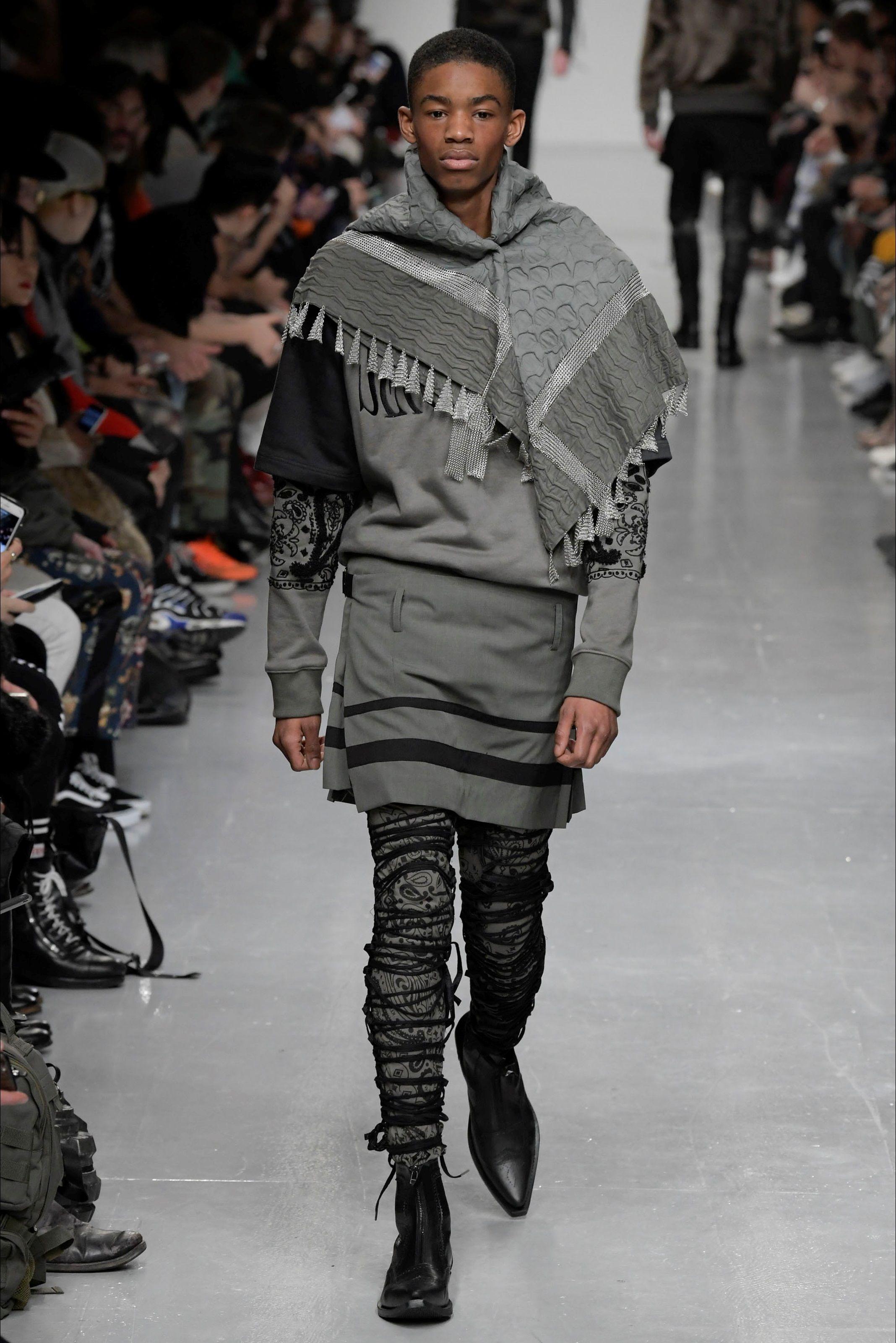 Sfilata Moda Uomo KTZ Londra - Autunno Inverno 2017-18 - Vogue