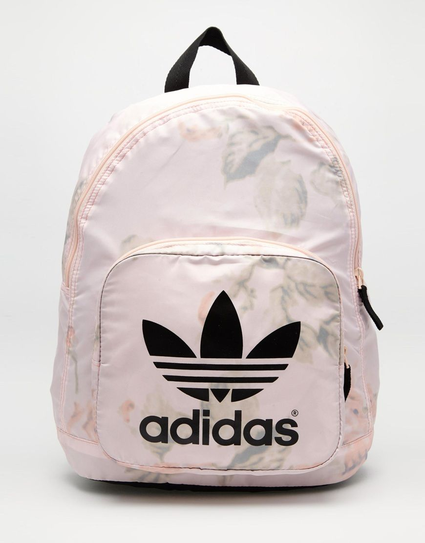 fb47a918a07 adidas Originals Pastel Rose Backpack   Bags   Pinterest   Adidas ...