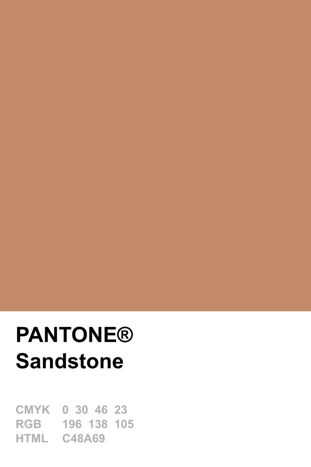 Pantone 2015 Sandstone Is Our Colour For Thursday A Sort Of Dark Rose Gold Light Terracotta Brownish Dusky Fusion Enjoy X