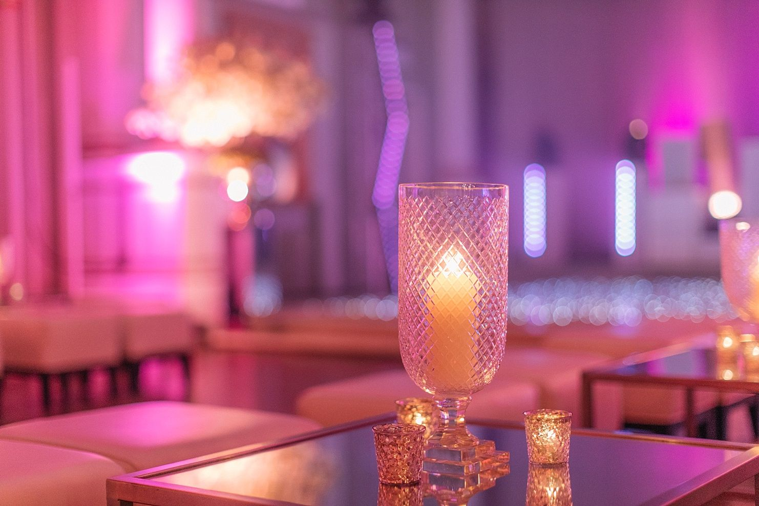Good Table Centres | Mirrors | Candlelit | Glamour | Birthday Reception | Luxury  Events | London