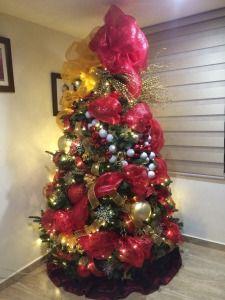 Arbol De Navidad 2014 Christmas Tree Decoration 2015 Decoracion De Arboles Arboles De Navidad Decorados Navidad