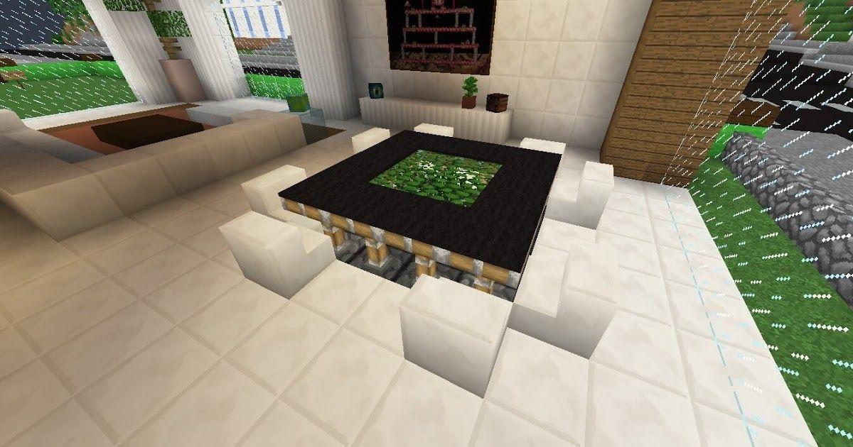Minecraft Table Design Ideas Minecraft Furniture 20 Living ...