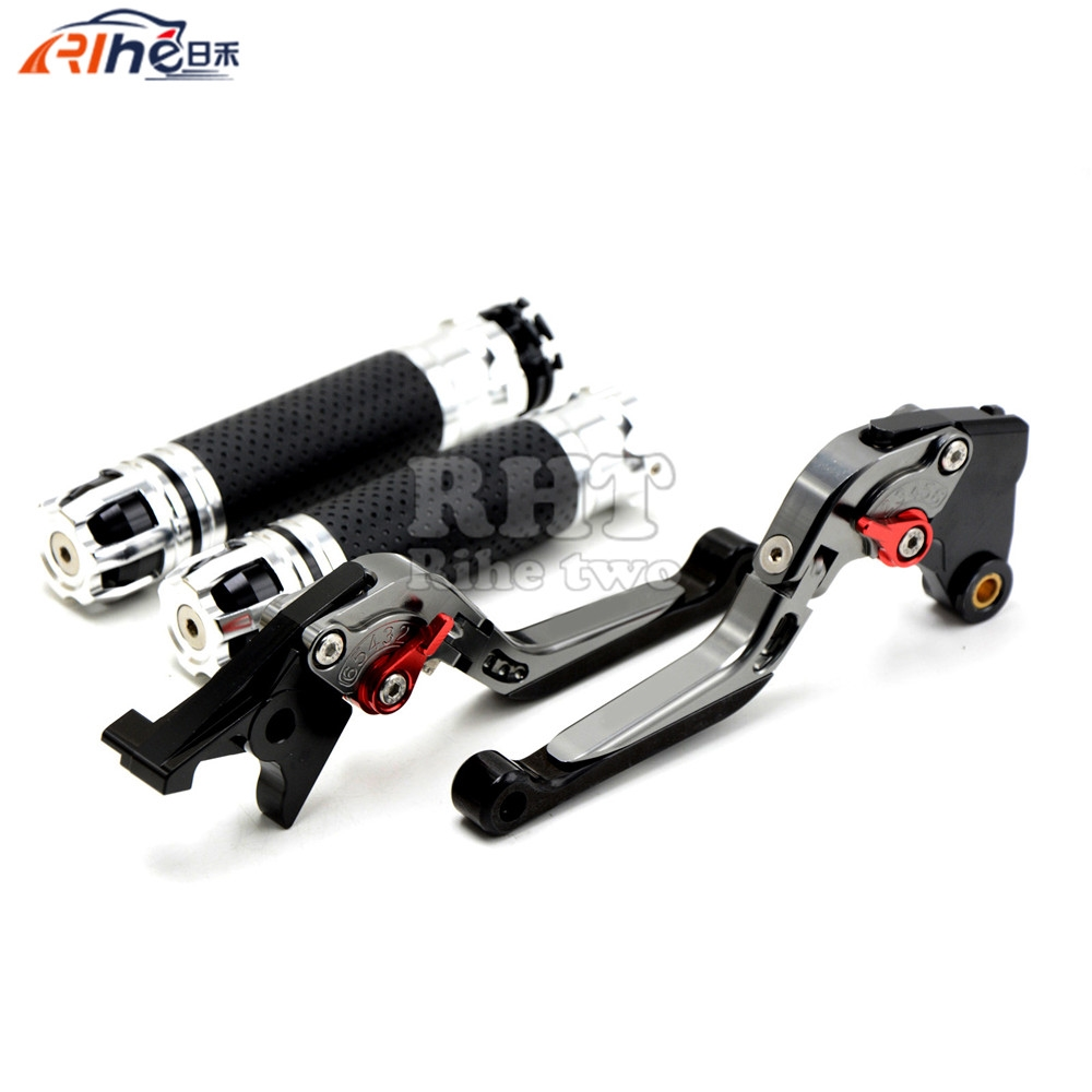 63.92$  Buy here - http://ali9xi.shopchina.info/go.php?t=32675658196 - CNC Handlebar Motorcycle Handle Bar Grips Adjustable Clutch Brake Levers For SUZUKI GSXR750 GSX-R 750 GSXR 750 06 07 08 09 10 K6 63.92$ #buyonlinewebsite