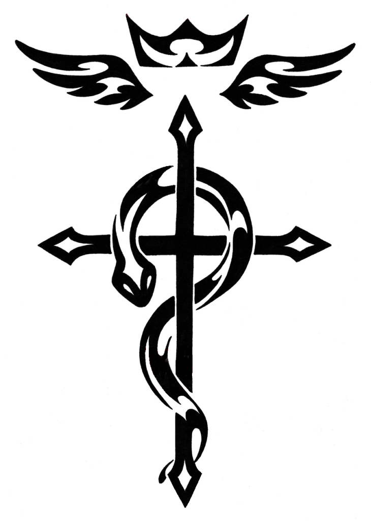 Flamel S Cross Tatuagem Alquimia Tatuagens De Anime Tatuagem