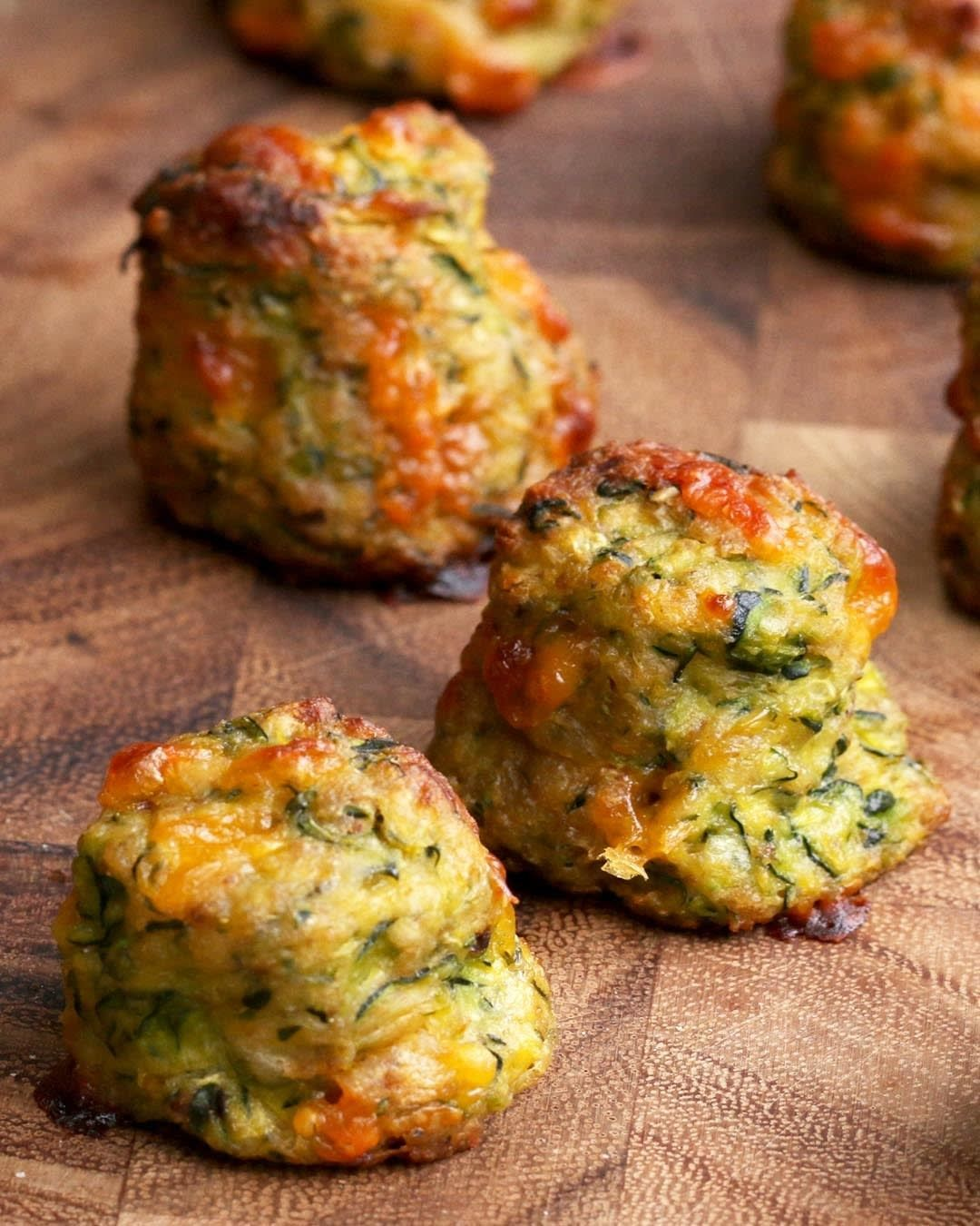 Zucchini Tots Food, Recipes, Zucchini tots