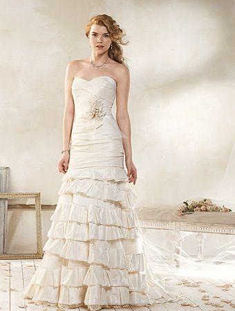 Vintage Modern Wedding Dress | Dream Wedding <3 | Pinterest ...