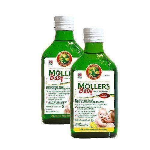 TRAN MOLLERS Baby Norwegian 250ml Infants from 6 months of