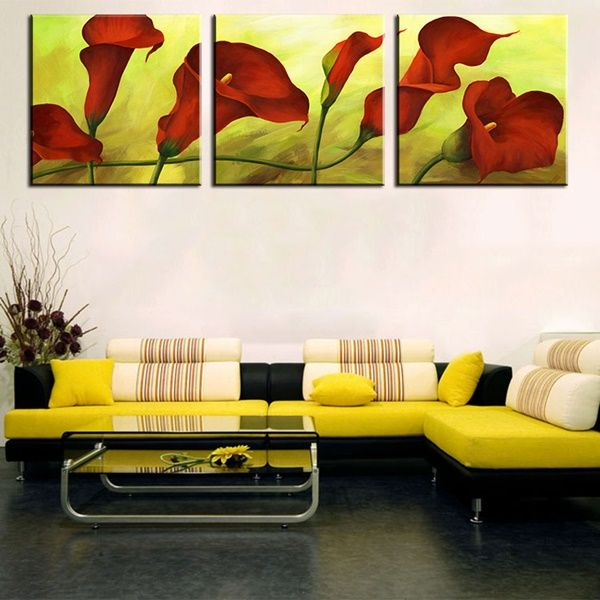 25 Easy Wall Art Three Piece Painting Ideas | Third, Paintings and ...