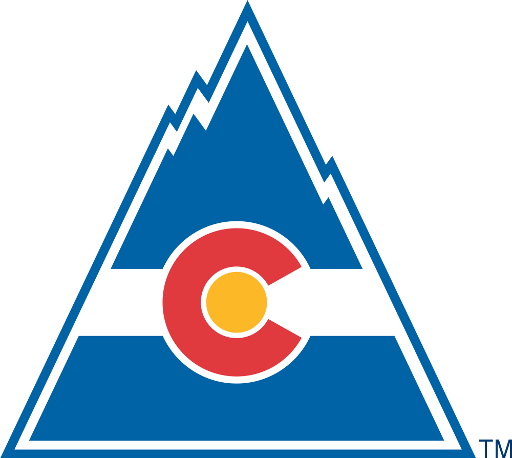 Vintage Rocky Hockey logothe Rockies were a Denver based