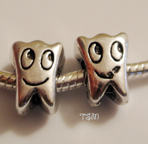8 Cute European Tooth Spacers. Starting at 5 on Tophatter