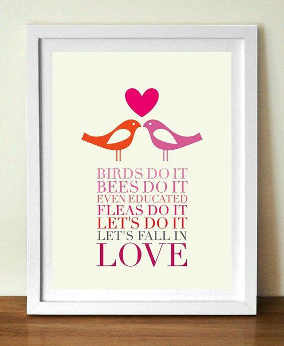 nous allons tomber en amour illustration pinterest tomber affiches et all es. Black Bedroom Furniture Sets. Home Design Ideas