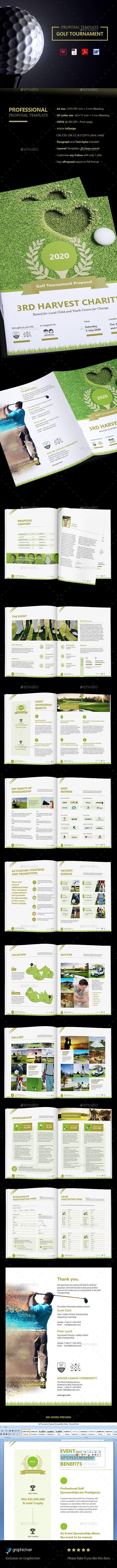 Clean Golf Tournament Proposal Clean Golf Tournament