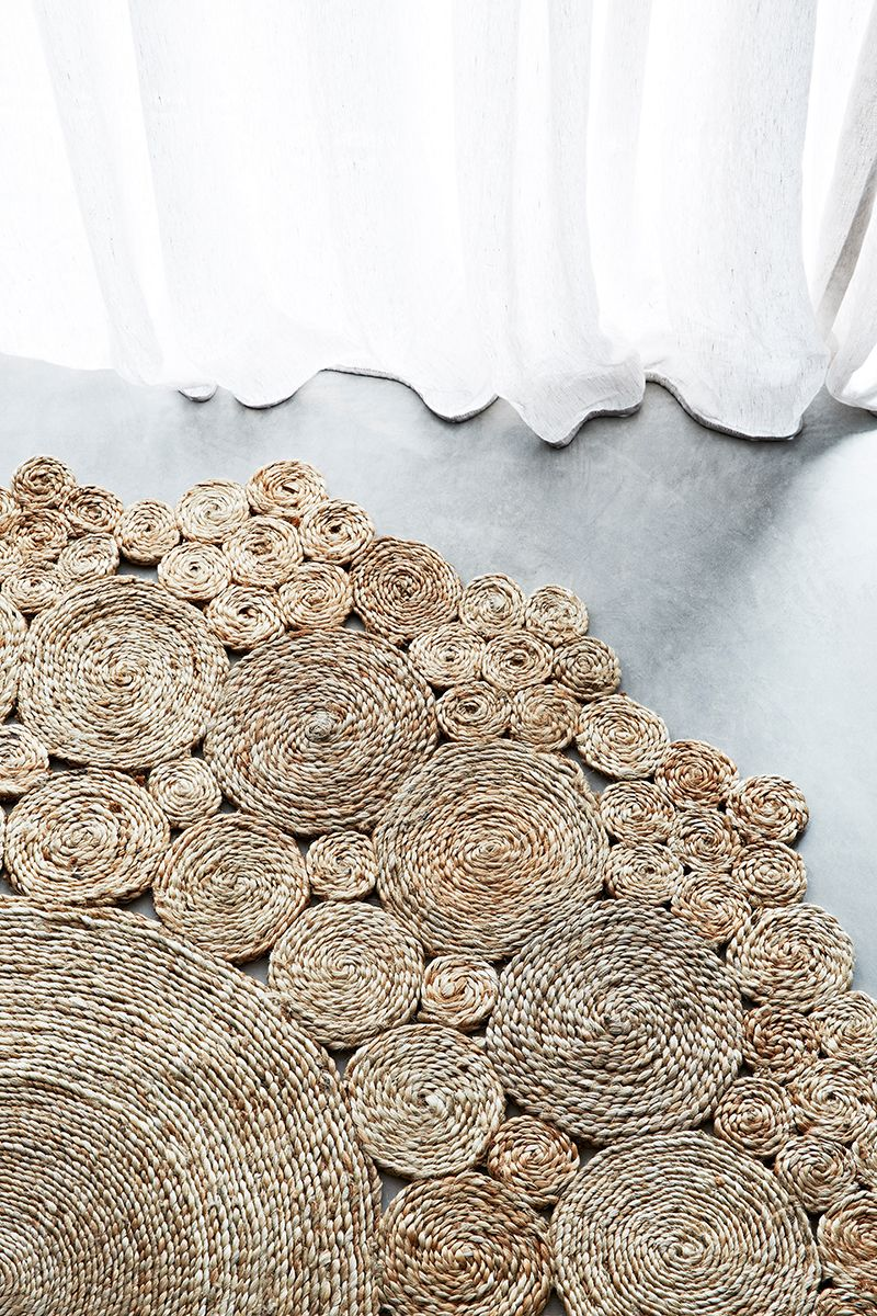 armadillo co sisal round rug | in store soon at ap design house