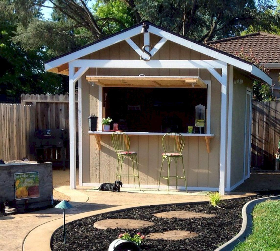Recent backyard bar and grill ideas made easy | Bar shed ...